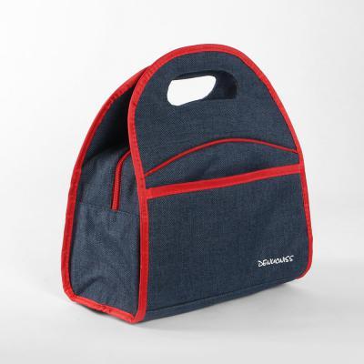 알로팜 데니스 손가방(블루)/보조가방 기저귀가방
