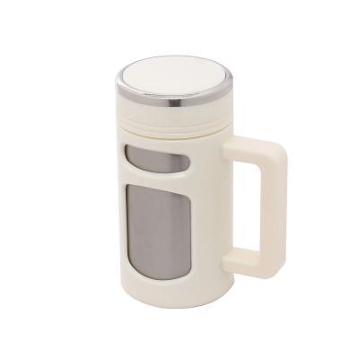 450ml 차우림 진공 텀블러(화이트) /스텐 보냉 보온컵