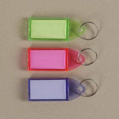 문구박사 컬러 네임텍 3p/명찰 이름표 열쇠고리 네임택
