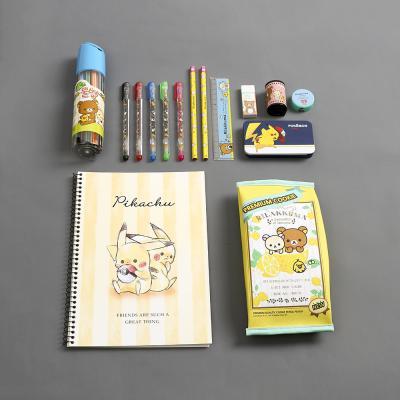 리락쿠마 왕대박 문구세트/캐릭터문구 어린이선물