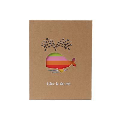레인보우 고래 포토앨범(4x6)(50매) / 포켓 사진첩