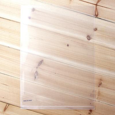 L자 투명클리어파일 L 홀더/관공서납품용 문구점판매용 회사