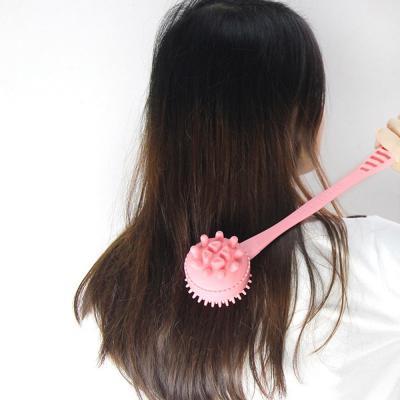 양면 지압돌기 팡팡안마기(핑크)