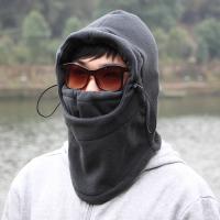 방한 마스크 후드 넥워머(그레이) (남성용)