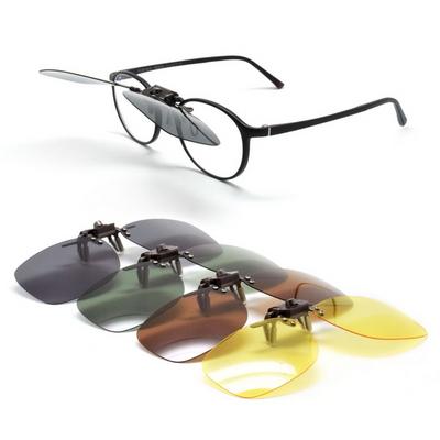 DGRM 동그라미 UV편광 클립온 선글라스 4종 안경용
