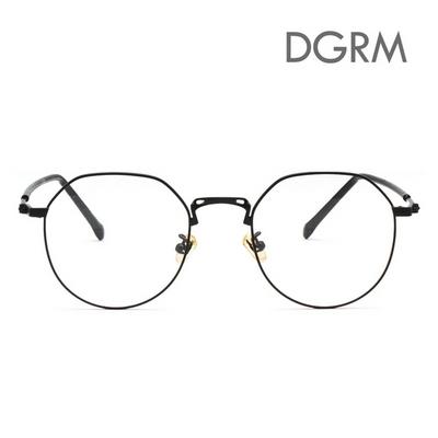DGRM 동그라미 메탈 각진 안경테 52005