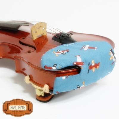 핸드메이드 바이올린 턱받침 커버