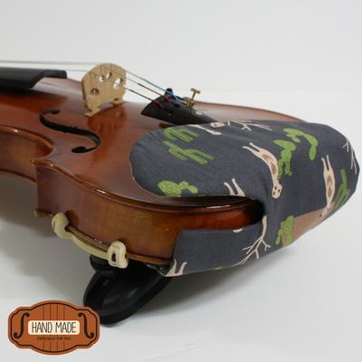 핸드메이드 바이올린 턱받침 커버 no22