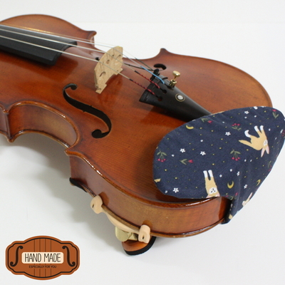 핸드메이드 바이올린 턱받침 커버 V-스타일 no18