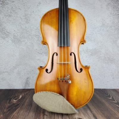 핸드메이드 바이올린 턱받침 커버 V-스타일 no25
