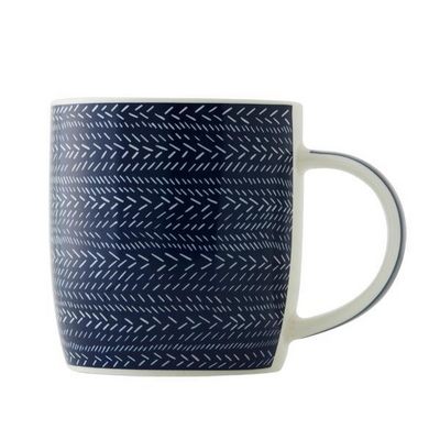 JT 블루바탕 패턴 머그