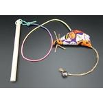고양이장난감 CT108 쥐꼬리에 방울 단 낚시대(DIY)