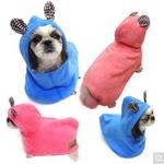 도그포즈 강아지 목욕가운