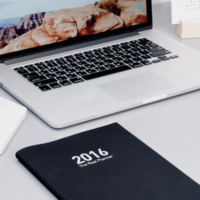 2016 The Real Planner (L) BLACK
