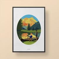 인테리어 디자인 포스터 M 인투더 와일드