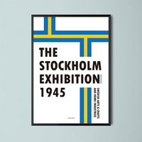 유니크 인테리어 디자인 포스터 M 스웨디쉬 북유럽포스터