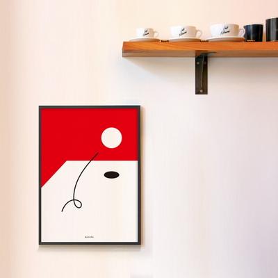 유니크 인테리어 포스터 M 콤포지션4 튀는 공