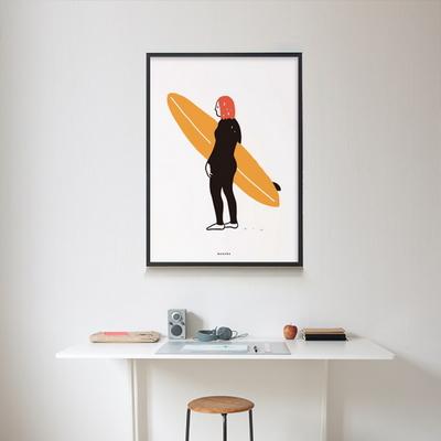 유니크 인테리어 디자인 포스터 M 고 서핑3 surfing