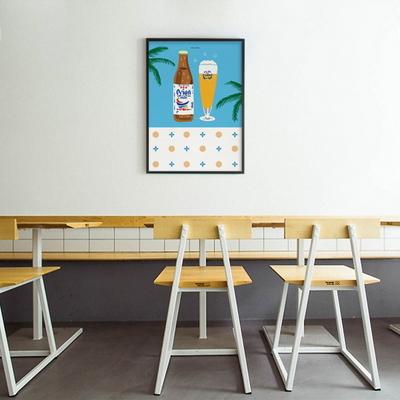 유니크 인테리어 액자 디자인 포스터 M 오키나와3 맥주