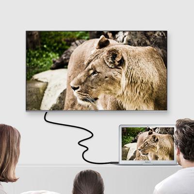 론션 USB-C타입 HDMI 케이블 200CM 4K UHD 고화질 미러링 화면 영상 전송 TV 모니터 빔프로젝트