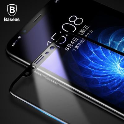 베이스어스 아이폰 3D 풀커버 전면 고강도 글라스 곡면보호 강화유리필름 iPhone11 프로 XS X