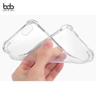 비오비 에어쿠션 투명 젤리 케이스 모서리 보호 방지 범퍼 갤럭시 S10 S9 8 7 엣지 아이폰X XS 맥스 XR