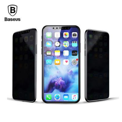 베이스어스 사생활보호 프라이빗 전면 3D 풀커버 강화유리 방탄필름 아이폰 11 프로 맥스 XS XR X