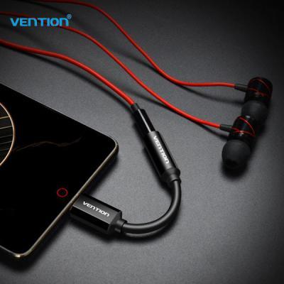 VENTION 벤션 C타입 Type-C 3.5mm 메탈 이어폰 단일 젠더 갤럭시 A9프로 샤오미 화웨이 넥서스호환