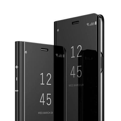 정품스타일 미러 클리어뷰 플립 스탠딩 케이스 갤럭시 S7 엣지 S8 S9 S10 5G 플러스 E 노트 8 9 A9 프로