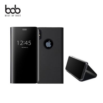 아이폰 미러 클리어뷰 플립 스탠딩 케이스 iPhone 11 프로 XS 맥스 XR X 8 7 플러스