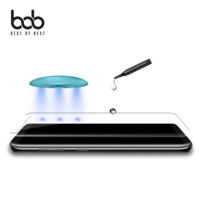 bob 곡면 풀커버 UV 액상 강화유리 필름 글라스 갤럭시 S10 S9 S8 플러스 노트10 노트9 노트8