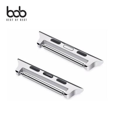 bob 애플워치 전용 시계줄 커넥터 어댑터 밴드 스트랩 자가교체 38/40/42/44mm 1 2 3 4 5 세대 전세대 호환