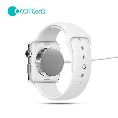 COTEetCI 애 플워치 전용 스테인리스 마그네틱 무선 충전기 USB 케이블 100CM 전세대 호환