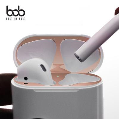 bob 에어팟 철가루방지 메탈릭 스티커 Airpods 1세대 2세대 유선 무선 호환