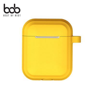 bob 또아 에어팟 전용 야광 실리콘 범퍼케이스+버클+스트랩 3SET Airpods 무선충전용 유선충전용 1 2 세대