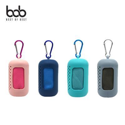 bob 휴대용 스포츠타올 퀵건조 손수건 초경량 캠핑용품 여행용품 야외활동 소형
