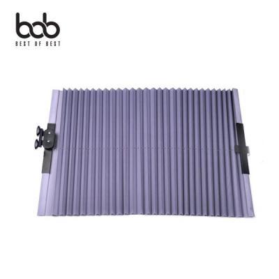 bob 차량용 햇빛가리개 썬커튼 블라인드 소형 65CM 앞유리 가림막 차량 실내온도 유지 간편설치