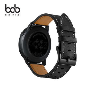 bob 갤럭시워치 액티브 컬러 가죽 스트랩 밴드 시계줄 40/41/42/44mm 기어스포츠 S2 클래식 S3 3세대