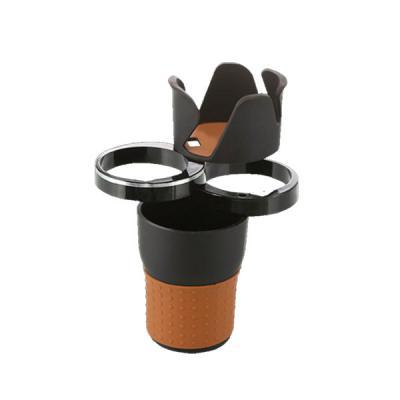 KALOOSH 4단 다용도 멀티수납 차량용 컵홀더 / 물병 텀블러 음료수캔 차키 동전