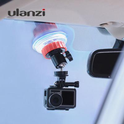 Ulanzi 울란지 U-50 실리콘패드 흡착식 1/4 나사 고정 거치대 카메라 액션캠 고프로 자동차 유리 평면 설치