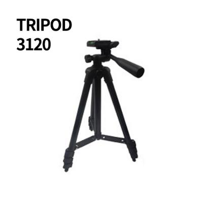 트리포드3120 4단 접이식 삼각대+휴대폰 홀더 / 스마트폰카메라 촬영용 셀프 스냅 휴대용