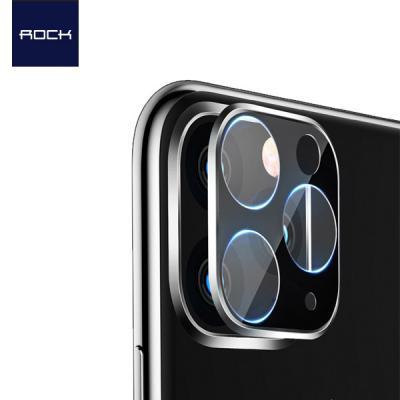 Rock 아이폰11시리즈 3D 풀커버 카메라렌즈 보호 강화유리필름 2매입 0.25mm iPhone 11 Pro Max 프로 맥스