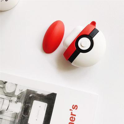 LOFTER 에어팟 전용 포켓볼 3D 실리콘 범퍼케이스+버클 Airpods 1세대 2세대 호환