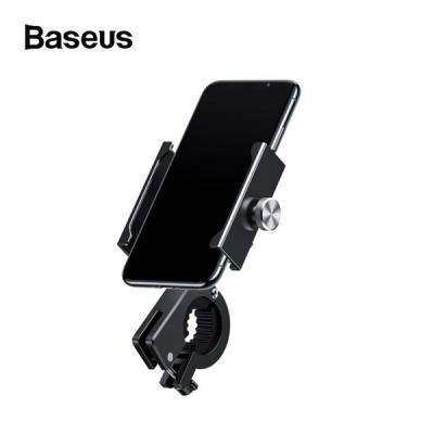 베이스어스 메탈 바이크 스마트폰 거치대 / 배달오토바이 퀵배송 자전거 스쿠터