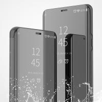 정품스타일 미러 클리어뷰 플립 스탠딩 케이스 갤럭시S20 S10 5G S9 S8 플러스 S7 엣지