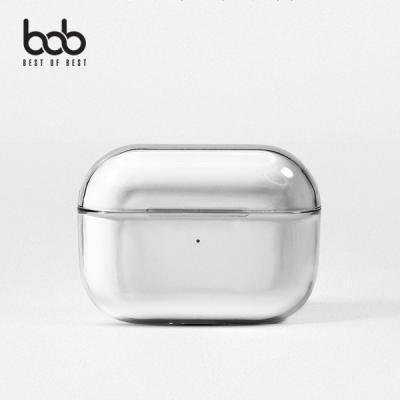 bob 에어팟프로 전용 클리어 하드 투명 케이스