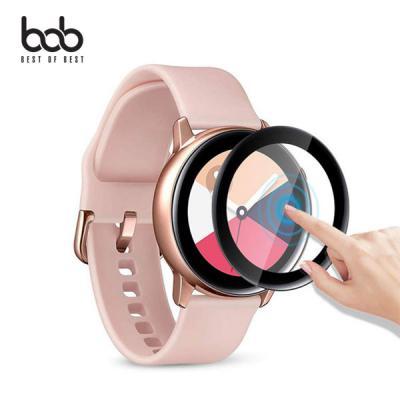 bob 매직쉴드 갤럭시워치 액티브 1세대 2세대 3D 곡면 풀커버 액정 강화 보호필름 Active2 40mm 44mm