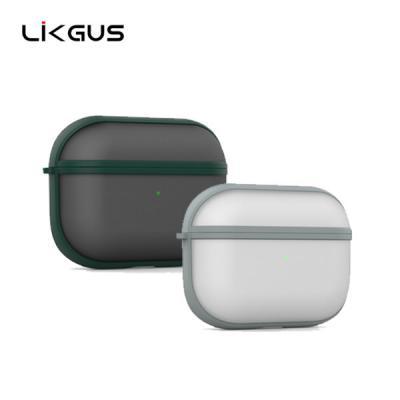 Likgus 에어팟프로 전용 루센트 반투명 젤하드 보호케이스 AirPods Pro 3세대
