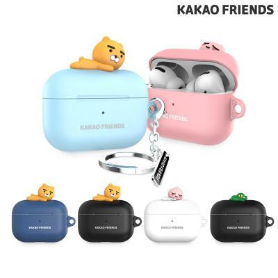 카카오프렌즈 에어팟프로 피규어 하드케이스+키링 AirPods Pro