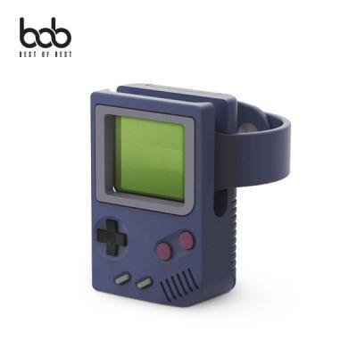 bob 미니게임기 애플워치 전용 충전식 실리콘 거치대 충전독 도크 홀더